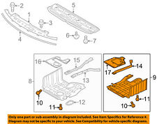 KIA OEM 11-15 Optima Splash Shield-Engine Side Shield Left 291302T300