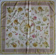 -Superbe grand Foulard  ETRO  100% soie  TBEG  vintage scarf