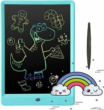 Pilipada LCD Writing Tablet Colorful Doodle Pad, 10 Inches Drawing Board Writing