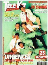 B6- Télé K7 N°670 Urgences George Clooney,Céline Dion