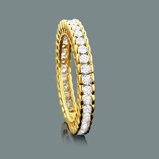 Echtschmuck Ringe Diamanten 585er Gelbgold  Brillantring Goldschmuck Damenring