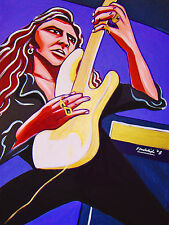 YNGWIE MALMSTEEN PRINT poster metal concerto suite cd fender stratocaster guitar