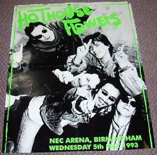 HOTHOUSE FLOWERS RARE CONCERT POSTER WEDNESDAY 5th MAY 1993 N.E.C. BIRMINGHAM UK