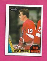 1987-88 OPC # 56 RED WINGS STEVE YZERMAN EX-MT CARD (INV# C9672)