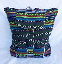 Mochila de algodón tejido tibetana/Bolsa Bolsa De Día-Bolsa de viaje/Talla-Bnwt