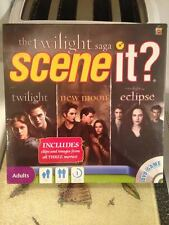 The Twilight Saga Scene It? DVD Board Game Includes Movie Clips & Images Sealed