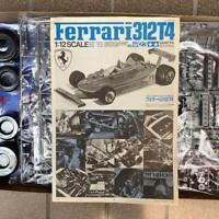 Tamiya 1/12 Ferrari 312T4  Jody Scheckter Gilles Villeneuve Plastic Model Kit