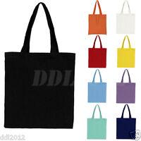 New Fashion Women Girls Canvas Shopping Handbag Shoulder Tote Shopper Beach Bag