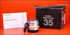 Fujifilm XF 35mm F2 R WR Fujinon Aspherical Fuji X Lens + F/R Lens Caps & Boxed