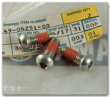 YAMAHA 90-95 XT600 88 YZ125 YZ250 FRONT BRAKE DISC SCREWS 90149-06251-00 QTY.3