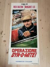 """ONCE UPON A TIME IN HOLLYWOOD Promo Poster 12x27"""" Italian TARANTINO DI CAPRIO"""