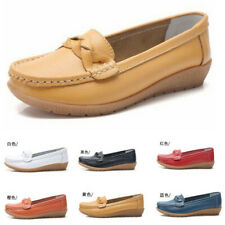 WOMENS NEW LADIES COMFORT LIGHTWEIGHT LOAFERS FLATS LOW HEELS SHOES STYLE SIZE