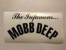 The Infamous Mobb Deep rap hip hop vinyl decal sticker