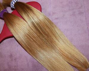 HUMAN HAIR HAIRCUT 12.5 IN 3.4oz Tot VERY BABYFINE BLONDE BUNDLE PONYTAILS C29