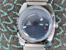 RARE TIMEX / Chrome  DATE/DAY QUARTZ  Watch 1970'S-1980'S.