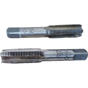 Taper and Plug Taps 2pc Metric Set M10 x 1.0P 1mm HSS Thread Repair