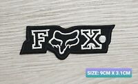 Fox Car Motor logo Badge Embroidered Iron On/Sew On Patch