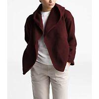 The North Face Women's Crescent Fleece Wrap Jacket, Maroon, Size XXL, $99, NwT