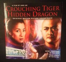 Crouching Tiger, Hidden Dragon Cd Soundtrack 2000