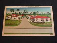 WEST'S MOTOR LODGE, VERO BEACH, FLORIDA POSTCARD