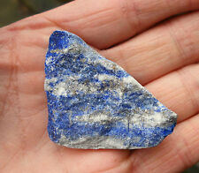 LAPIS LAZULI AFGHANISTAN NATURAL ROUGH SPECIMEN 30mm to 35mm GIFT BAG * ID CARD
