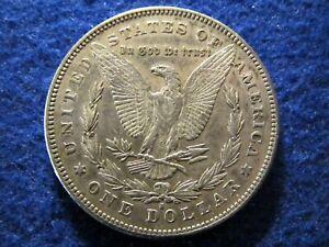 1878 S Morgan Silver Dollar - Light Toned Lustrous Extra Fine+/Near AU    Read