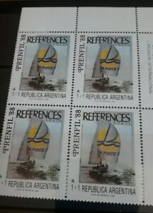 Argentina 1988 SG2134 in Unmounted Mint Block of 4