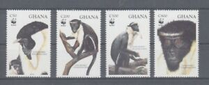 D. Ghana 1973 - 76 Ape Wwf (MNH)