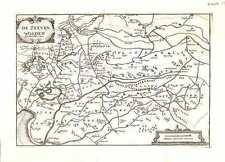 Antique map, De Zeeven Wolden