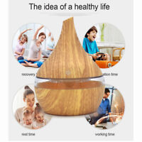 400ml Ultrasonic Humidifier USB Essential oil Diffuser with LED Light Aroma Air