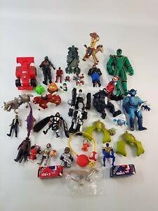 Action Figure Toy Bundle Joblot Power Rangers Toy Story Star Wars Marvel Mario