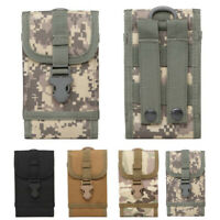 Tactical Army Molle Wallet Pack Cell Phone Belt Loop Hook Cover Case Bag Pouch