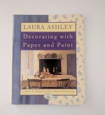 Laura Ashley Decorating with Paper and Paint Large Paperback 1995