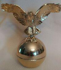 Vintage Avon Men's Bold Eagle Tai Winds After Shave Decanter Bottle Full 3 Fl.Oz