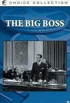 BIG BOSS (1941) ( B&W) Region Free DVD - Sealed
