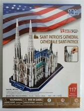 Cubic Fun Saint Patrick's Cathedral 3D Puzzle New & Sealed 14 Years+