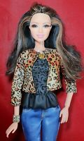 Barbie Raquelle Glam Luxe Style Dreamhouse Rooted Lashes 100+ Articulated Doll