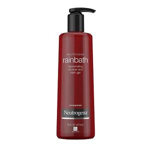 Neutrogena Rainbath Rejuvenating Shower and Bath Gel 16 Oz Pomegranate