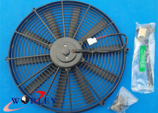 16 inch 12V volt Electric Cooling Fan Thermo Fan +Mounting kits