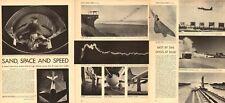 1953 vintage aerospace Article Sand Space Speed Douglas Skyrocket Mach 2 100717