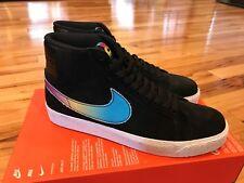 Nike SB Zoom Blazer Mid QS Lance Mountain Black Multi-color AH6158-090 Size 13