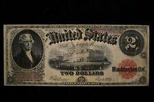 "1917 $2 Legal Tender Note FR 60 VERY FINE ""REASONABLY PRICED"""