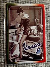 Blechschild, 20 x 30, VESPA, Motorroller, Italien, Kult, sexy lady, Neu, OVP -4-