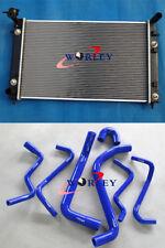 For Holden VT VX Commodore V6 AUTO/MANUAL Alloy Radiator&HOSE w/ Dual Oil Cooler