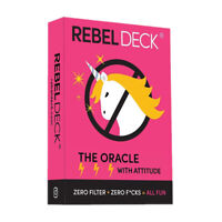 Rebel Deck The Oracle with Attitude Brace Yourself Divination Board Game 60-Card