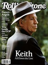 NEW Rolling Stone Magazine Keith Richards 10/22/15 USA Edition No Mailing Label!