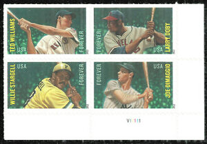 Scott 4697b - The 2012 MLB All Stars Issue,  Plate Number Block - Mint, NH