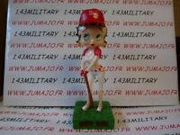 BB12 figurine Betty boop resine en blister MIB 15 cm environ : base-ball