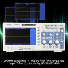 "Hantek DSO5202P Digital Storage Oscilloscope 2CH 200MHz 7"" TFT AC110-240V HN"