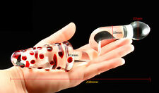 ***NEW FUN WINDING HANDLE SHAPED SEX_GLASS_DILDO ANAL_TOY (YP06) ***
